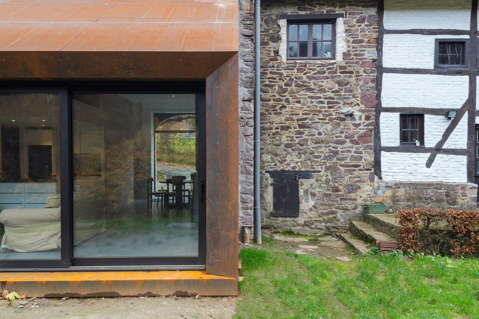 Ristrutturazione e ampliamento di una casa rustica - Ampliamento casa ...