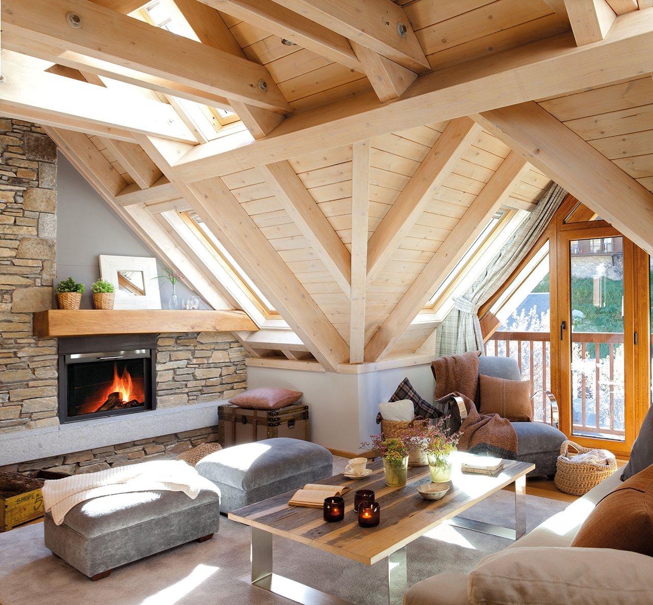 Arredamenti di tendenza per la zona giorno for Design semplice casa del fienile