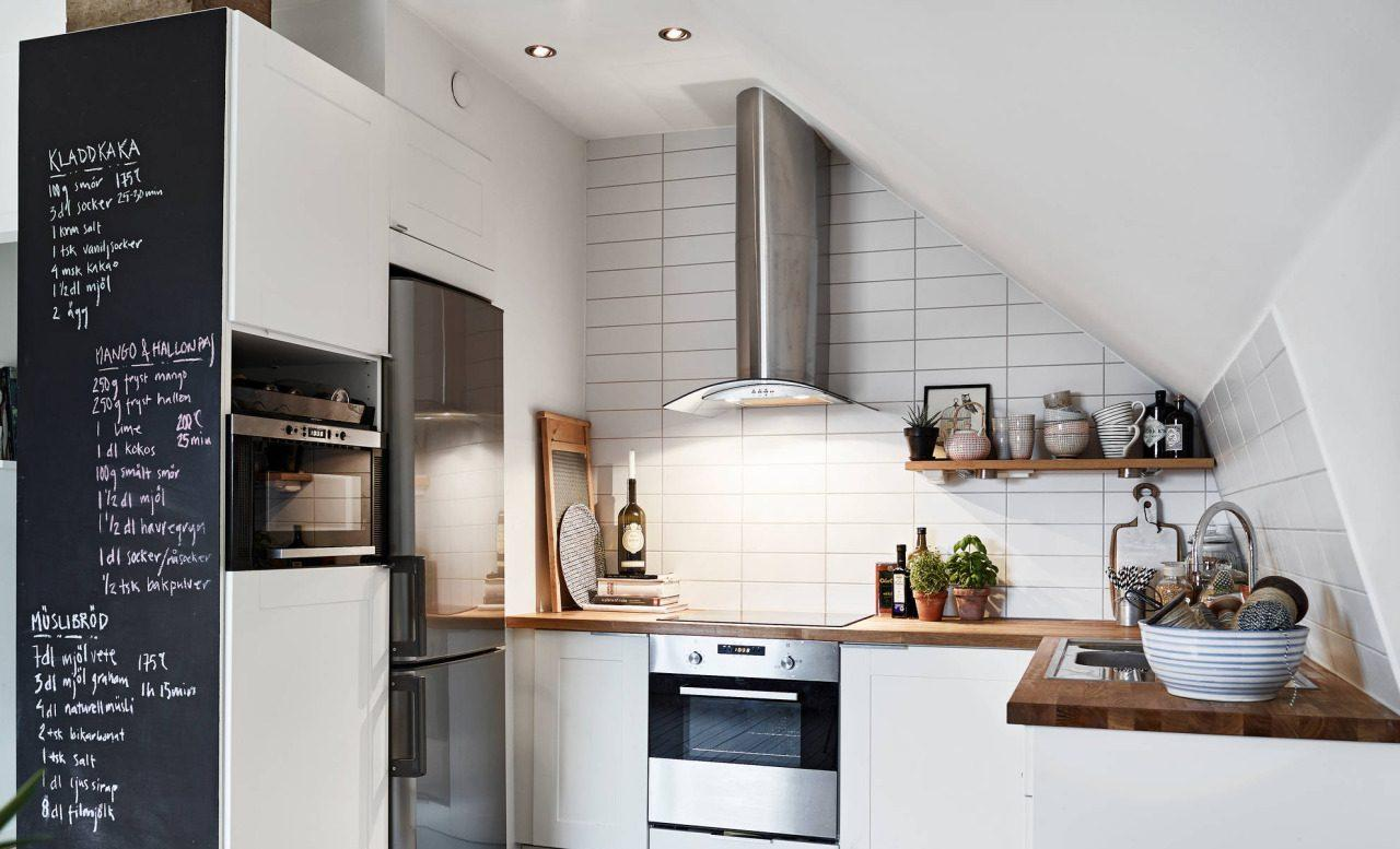 Fare Una Parete Di Lavagna : Modi per usare delle piccole pareti in casa mansarda