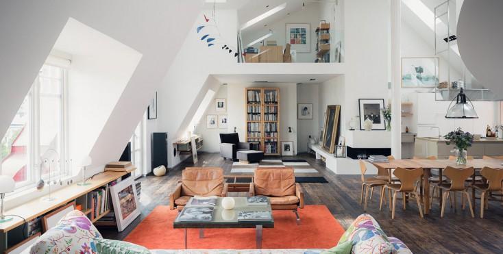 Arredare una mansarda di 50mq idee per il design della casa for Piccole planimetrie della casa con soppalco
