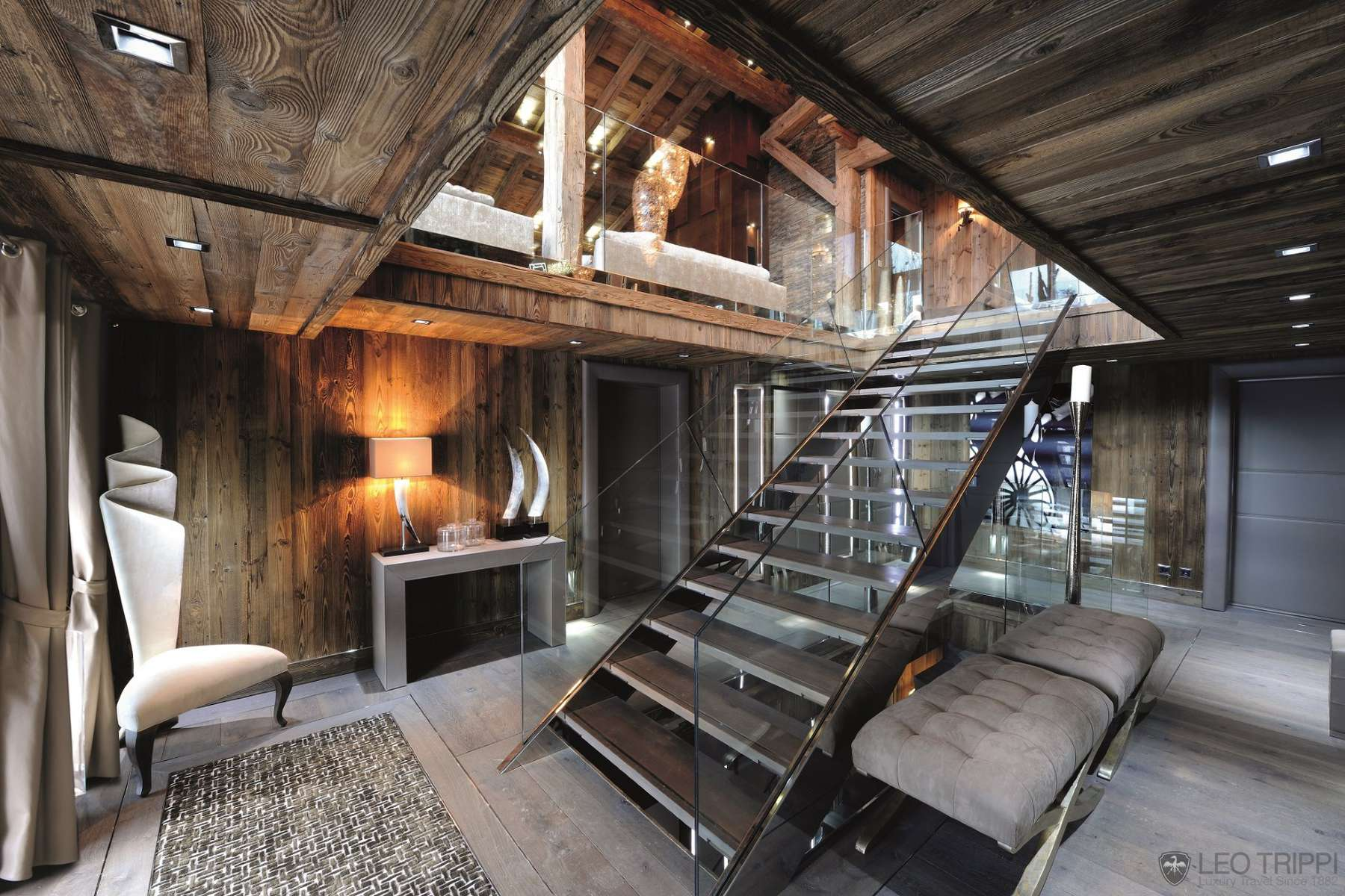20-private-villa-MEGE2846-Megeve-Alps-French-France-stairs