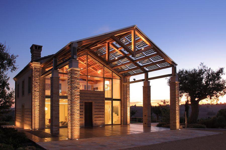 La ristrutturazione di un edificio di campagna - Casa in muratura portante ...