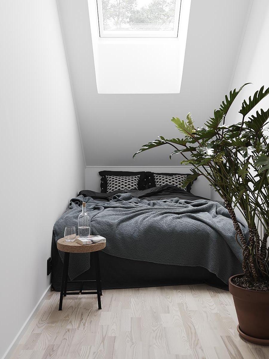 10 idee da copiare da una camera da letto in stile nordico - Mansarda.it