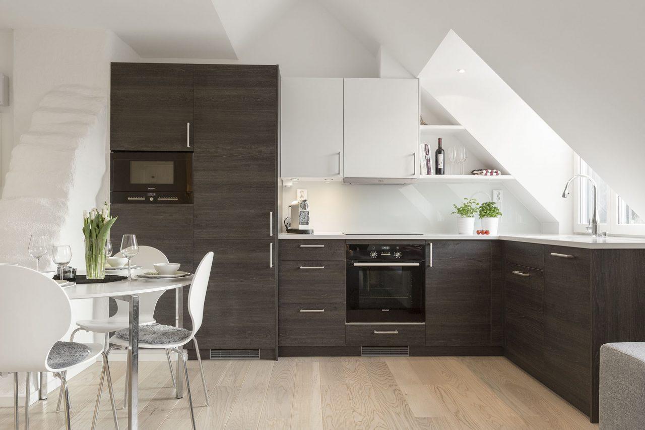 Cucina - Cucine per mansarde basse ...