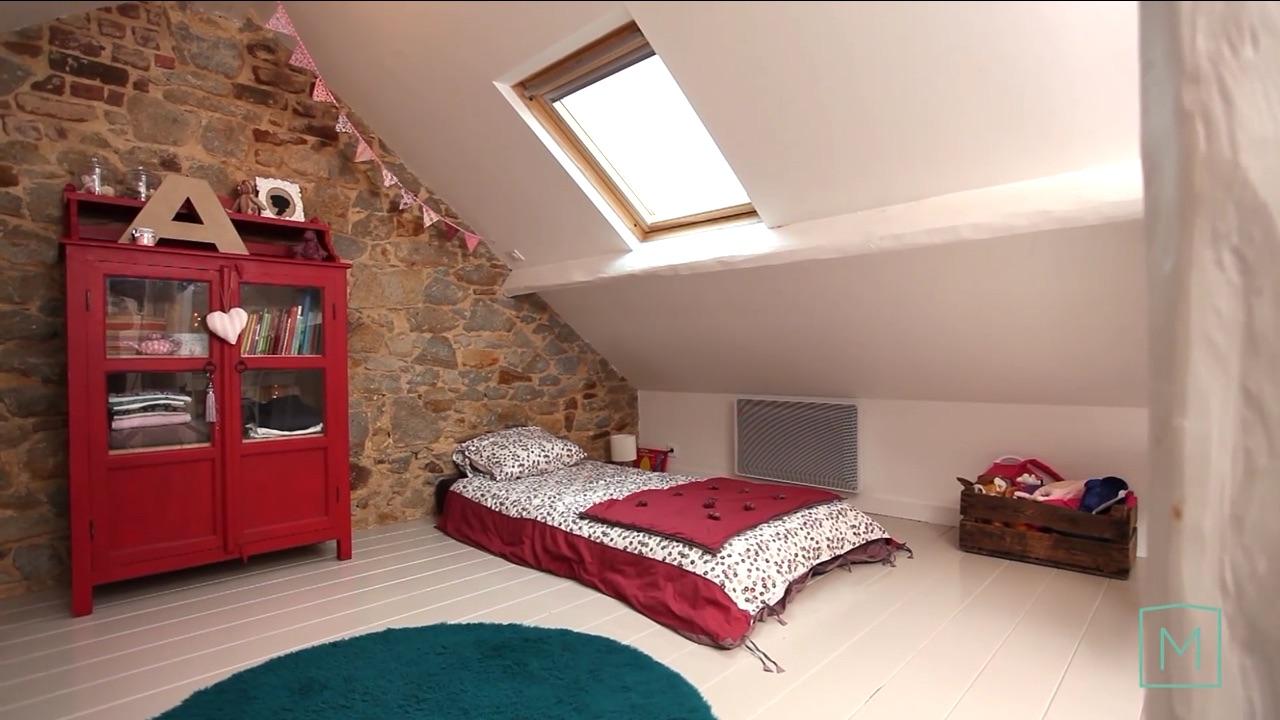 Idee per dipingere la camera da letto - Cameretta in mansarda ...