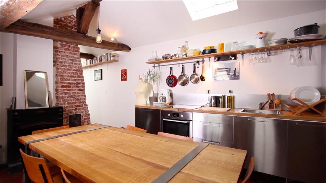 Un piccolo loft openspace in citt for Piccolo loft a casa