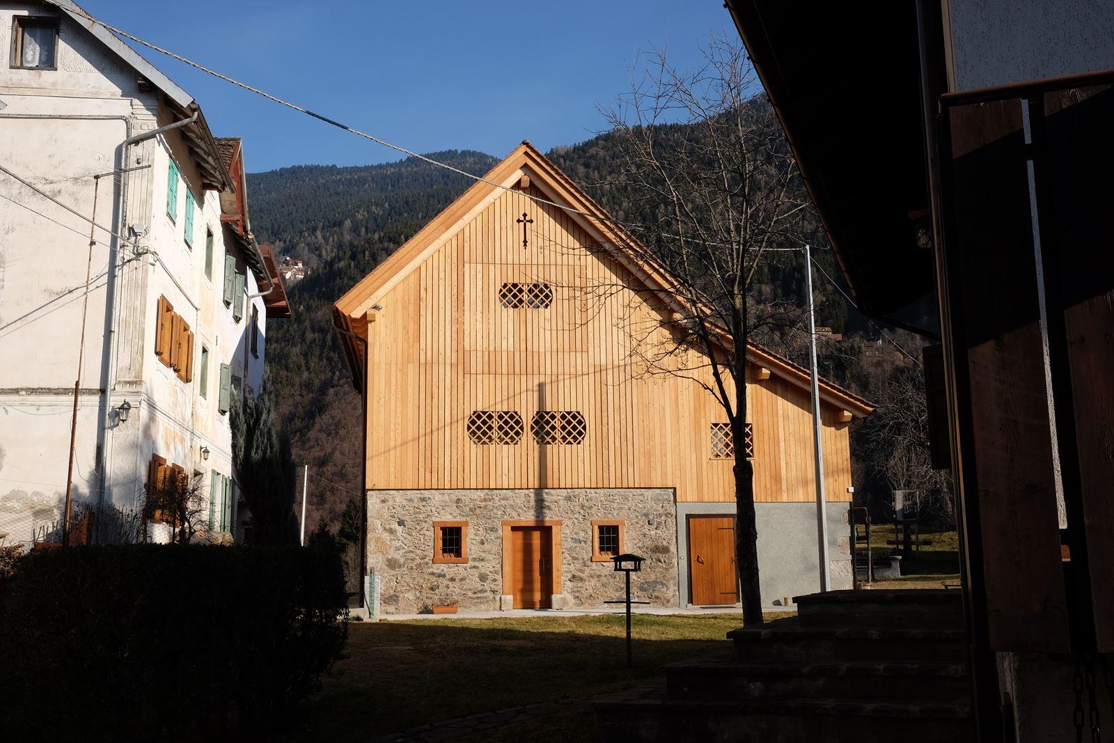 La casa nel fienile for Layout della casa del fienile