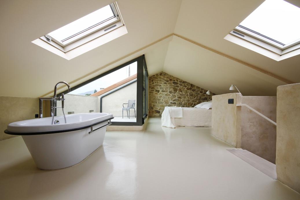 Camera con vasca