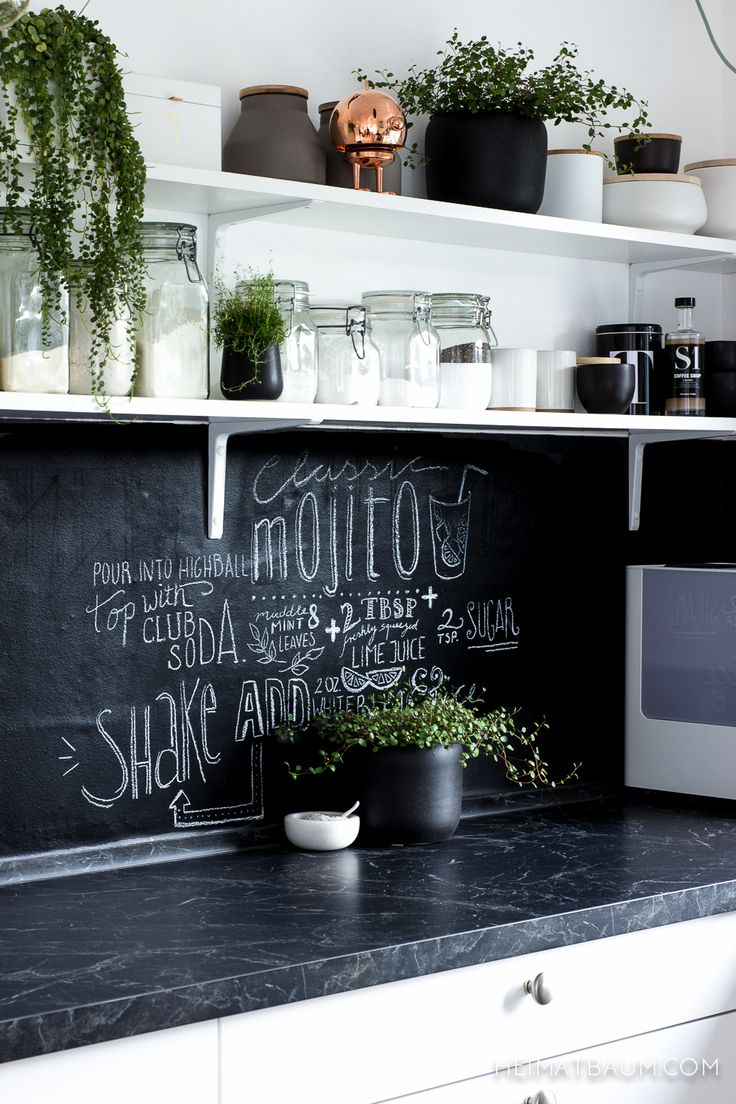 10 idee per rendere la vostra cucina spettacolare - Vernice per ante cucina ...