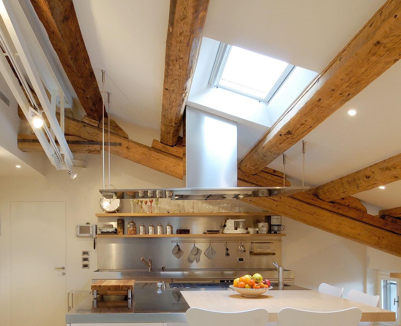 10 idee per rendere la vostra cucina spettacolare - Cucine per mansarde basse ...
