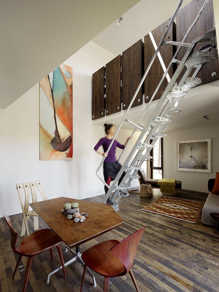 Come massimizzare lo spazio in un piccolo loft for Planimetrie cottage con soppalco