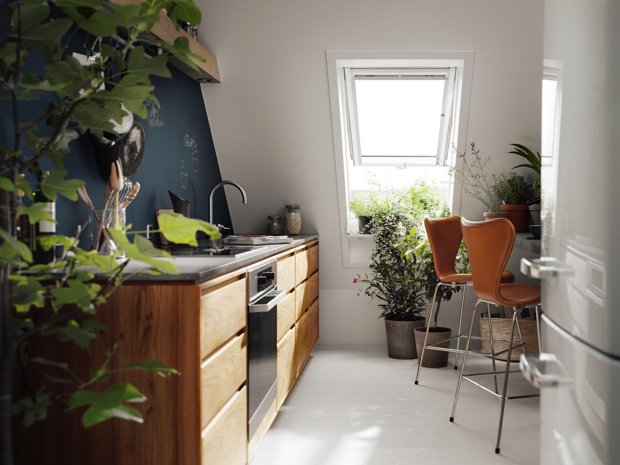 Come rendere la casa sicura prima di partire per le - Cucine in mansarda ...