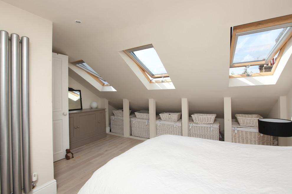 Come utilizzare al meglio lo spazio in mansarda - Camera da letto mansarda ...