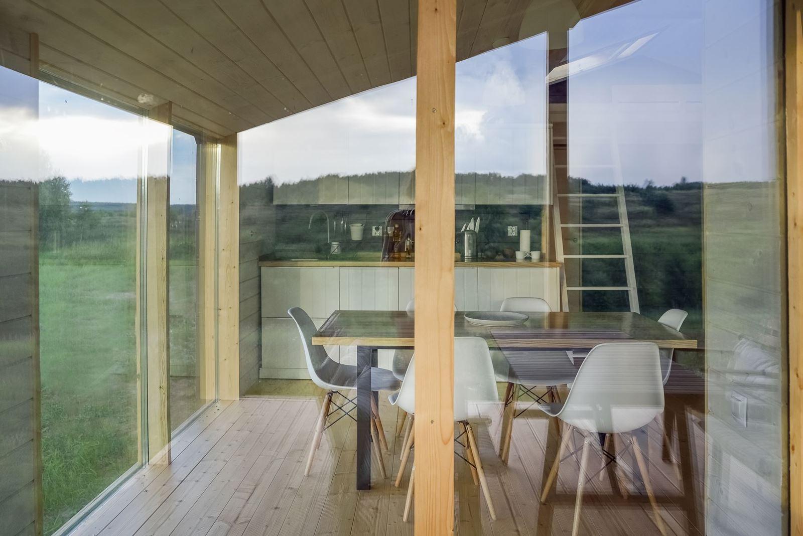 Una casa ecologica e prefabbricata - Mansarda.it