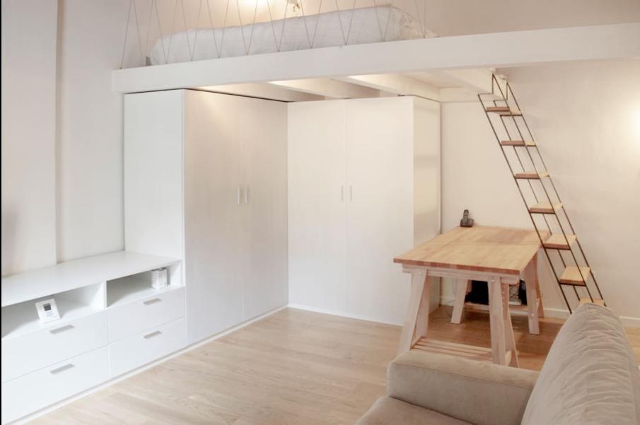 Come abitare in un microloft - Altezza parapetti finestre normativa ...