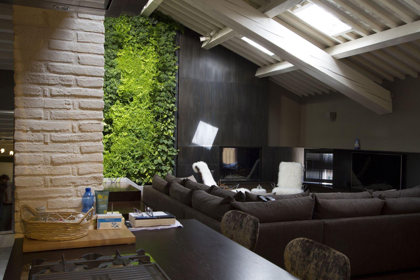 Soluzioni soppalco - Giardino verticale madrid ...