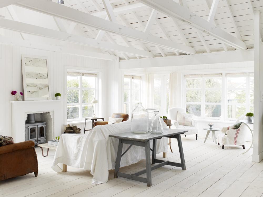 Un cottage sulla spiaggia for Progetti di cottage sulla spiaggia e planimetrie