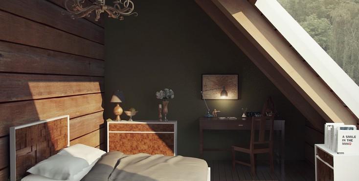 Camere da letto in mansarda - Mansarda.it