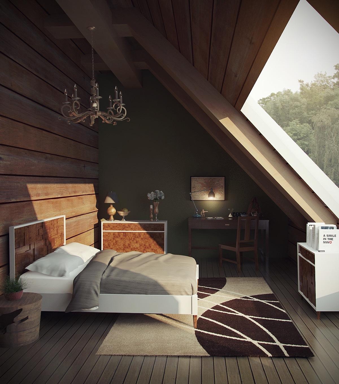 Camere da letto in mansarda - Finestra camera da letto ...