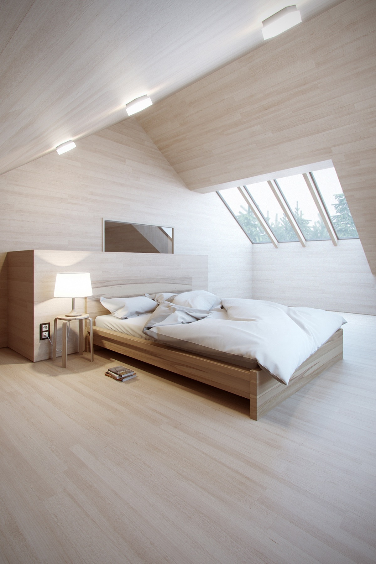 Camere da letto in mansarda - Camera da letto mansarda ...