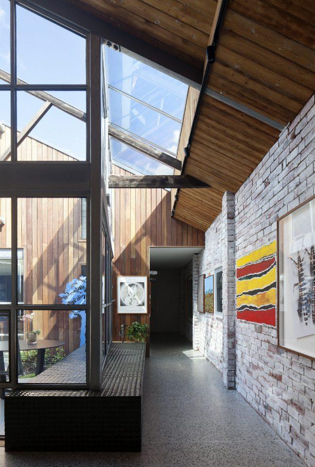 Corridoio for Casa in stile magazzino