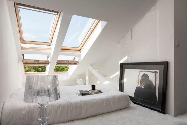 Una piccola camera con vista