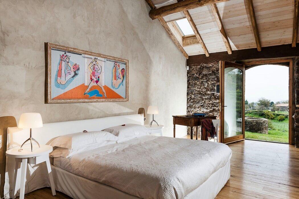 Un country hotel in sicilia mansarda