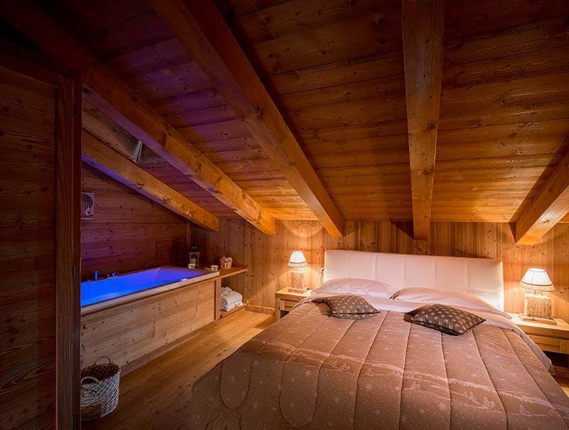 Mansarde di montagna dove passare le vacanze - Camera da letto mansarda ...
