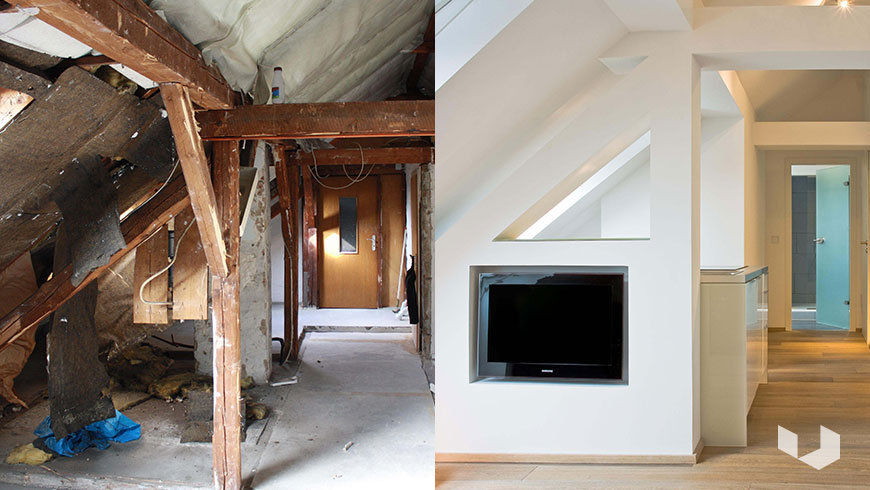prima e dopo. Black Bedroom Furniture Sets. Home Design Ideas