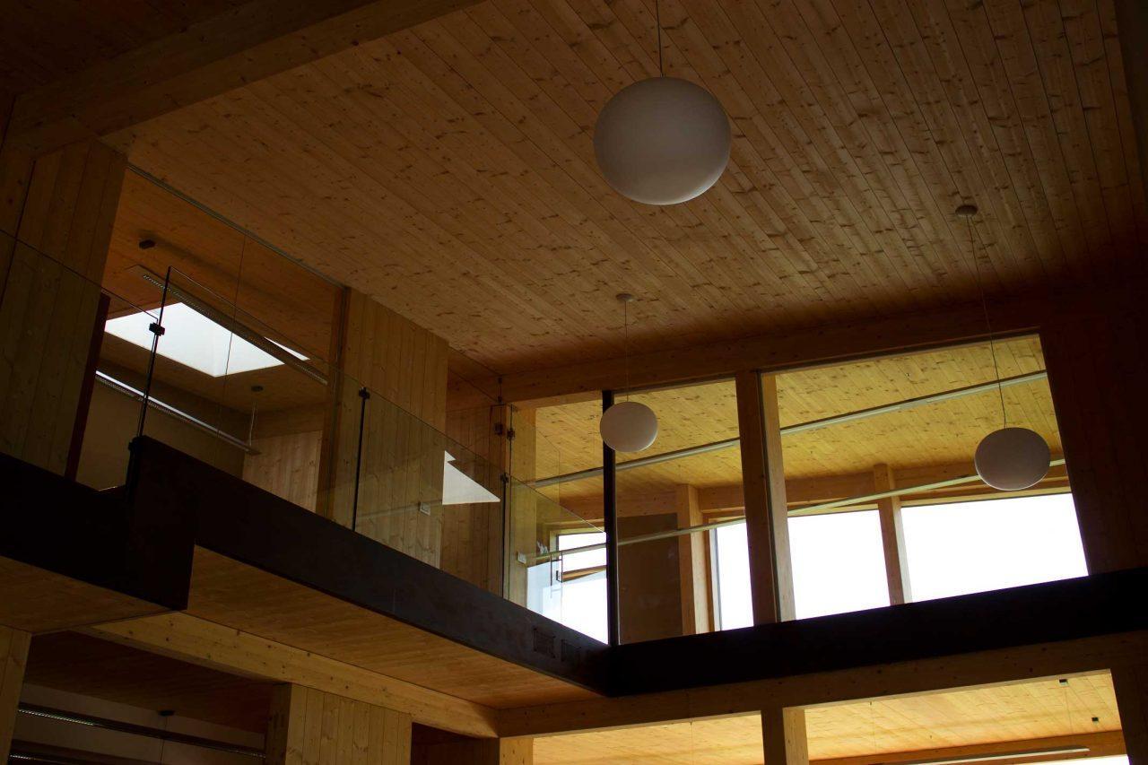 Un ufficio ad alta efficienza energetica for Piani di fattoria ad alta efficienza energetica