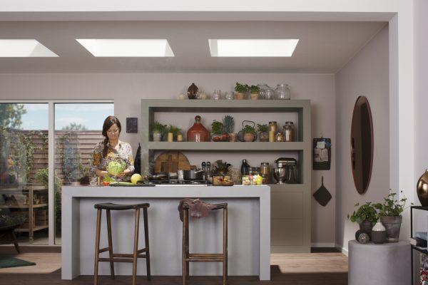 Finestra per tetti piani con vetro piano for Faelux srl finestra per tetti