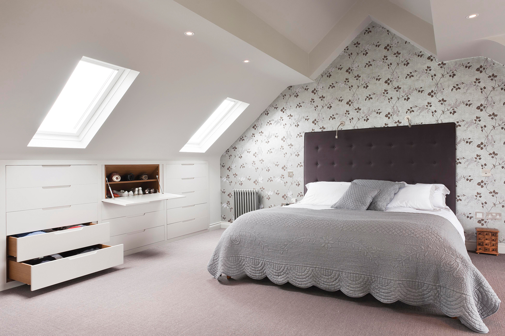 Come trasformare un sottotetto in una camera da letto ...