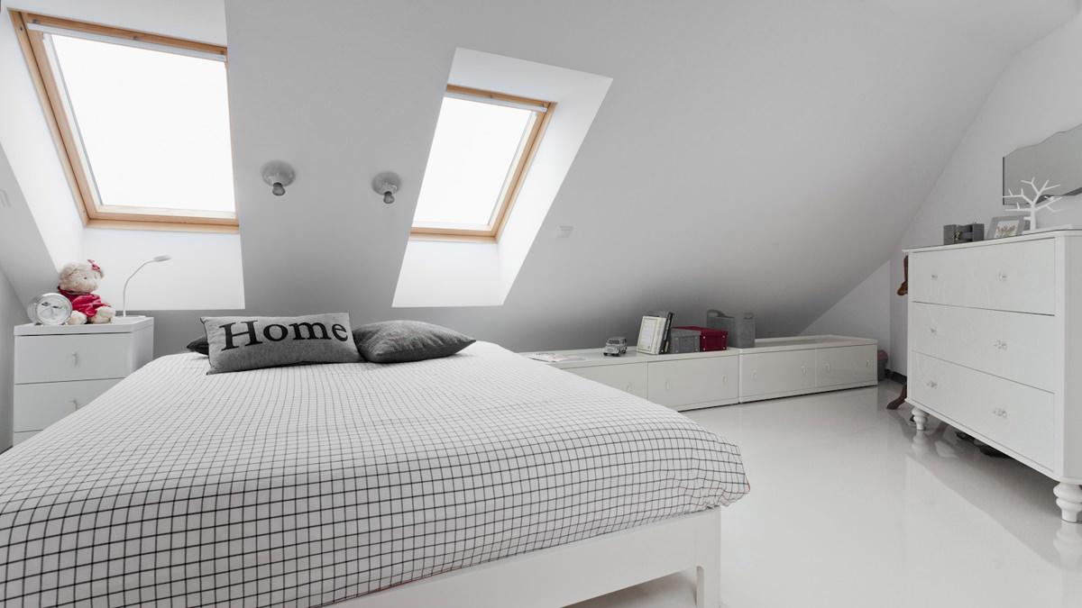 Pianta Camera Da Letto Con Misure : Come trasformare un sottotetto in una camera da letto mansarda