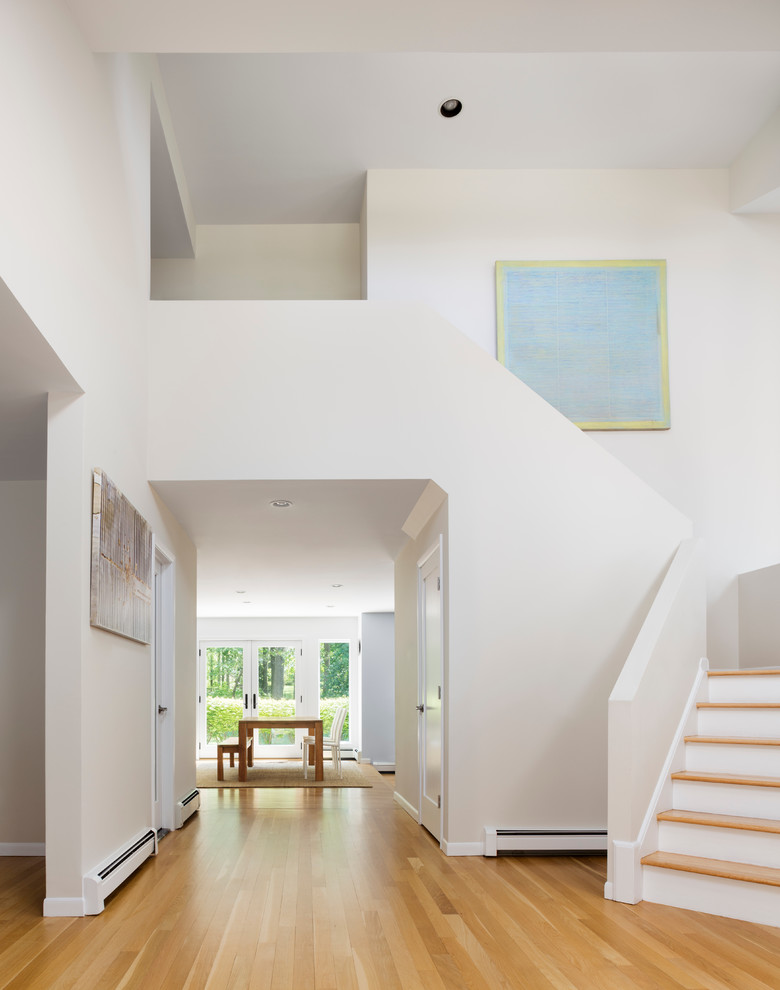 Una casa di famiglia con finestre per tetti for Piani di casa con la stanza del cane
