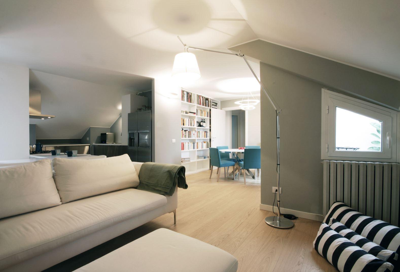 trasformare un sottotetto in un appartamento funzionale