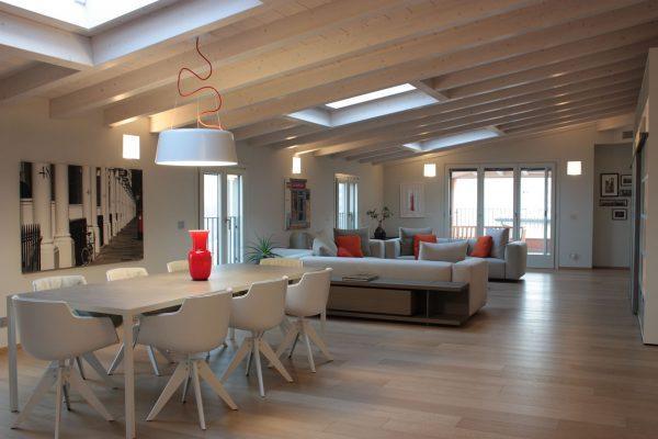 Mansarda Open Space Milano - Progetto Studio Oikos