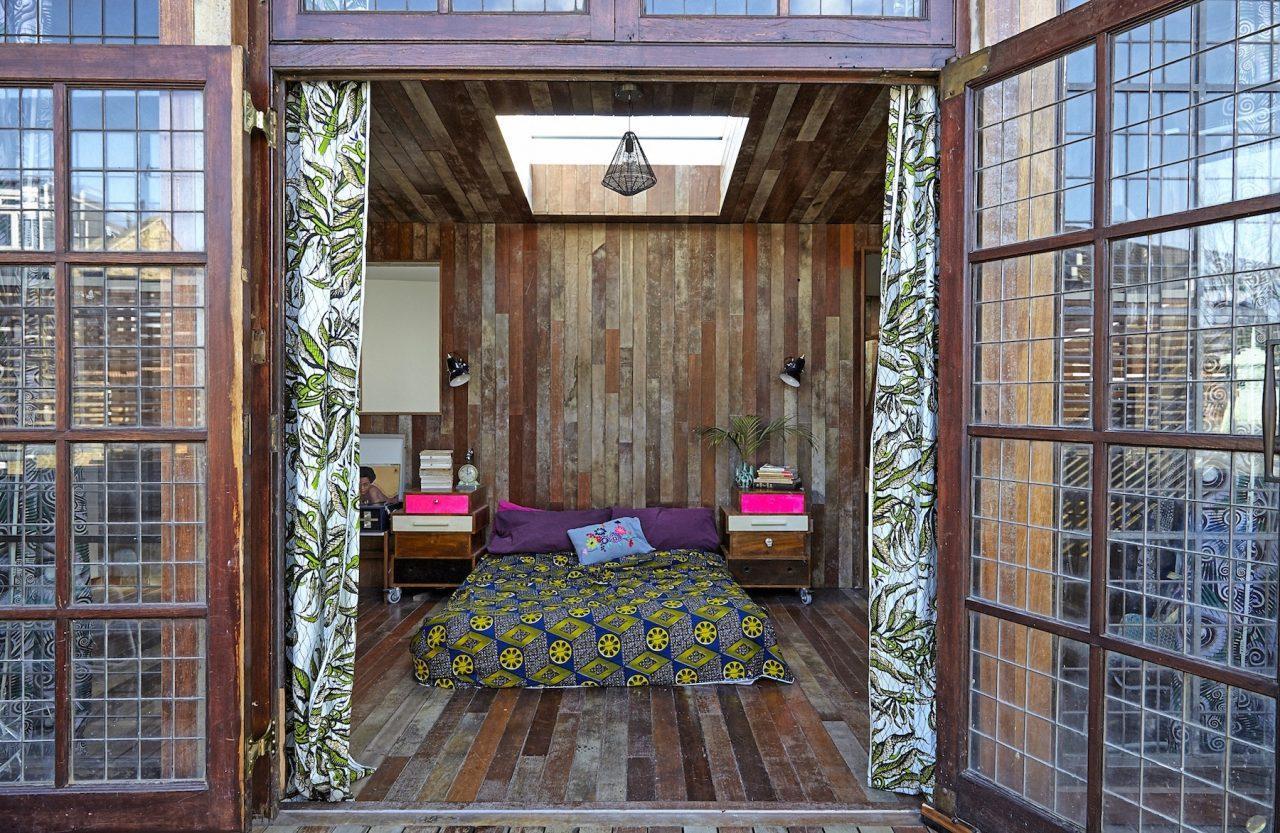 Un loft dallo stile rustico a londra - Chiocciola per intonaco ...