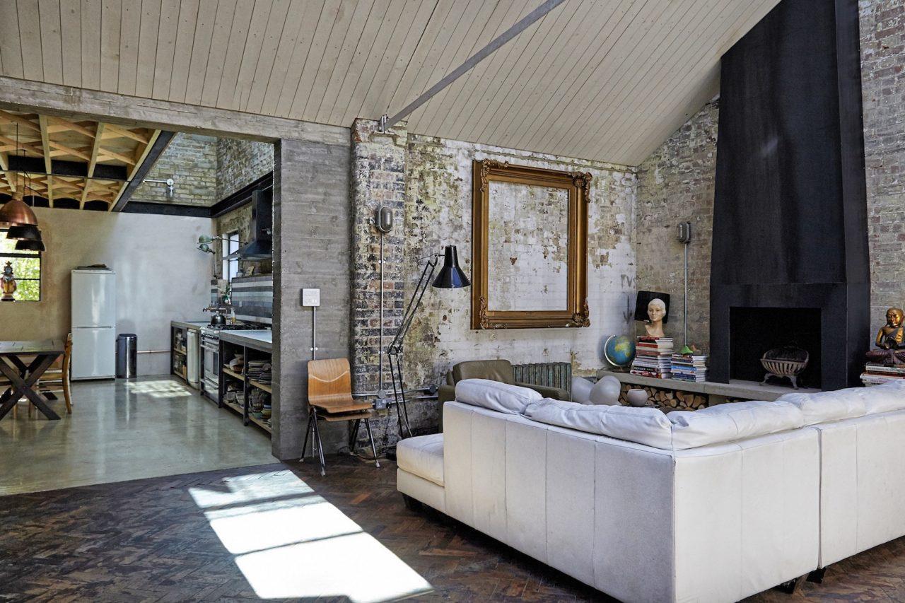 Un loft dallo stile rustico a londra - Casa stile rustico ...
