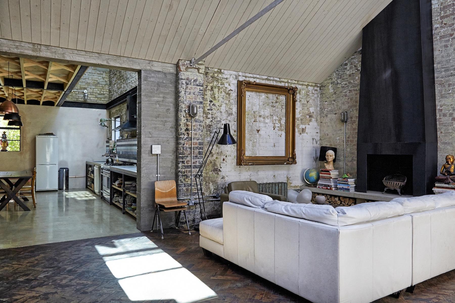 Un loft dallo stile rustico a londra for Stile rustico