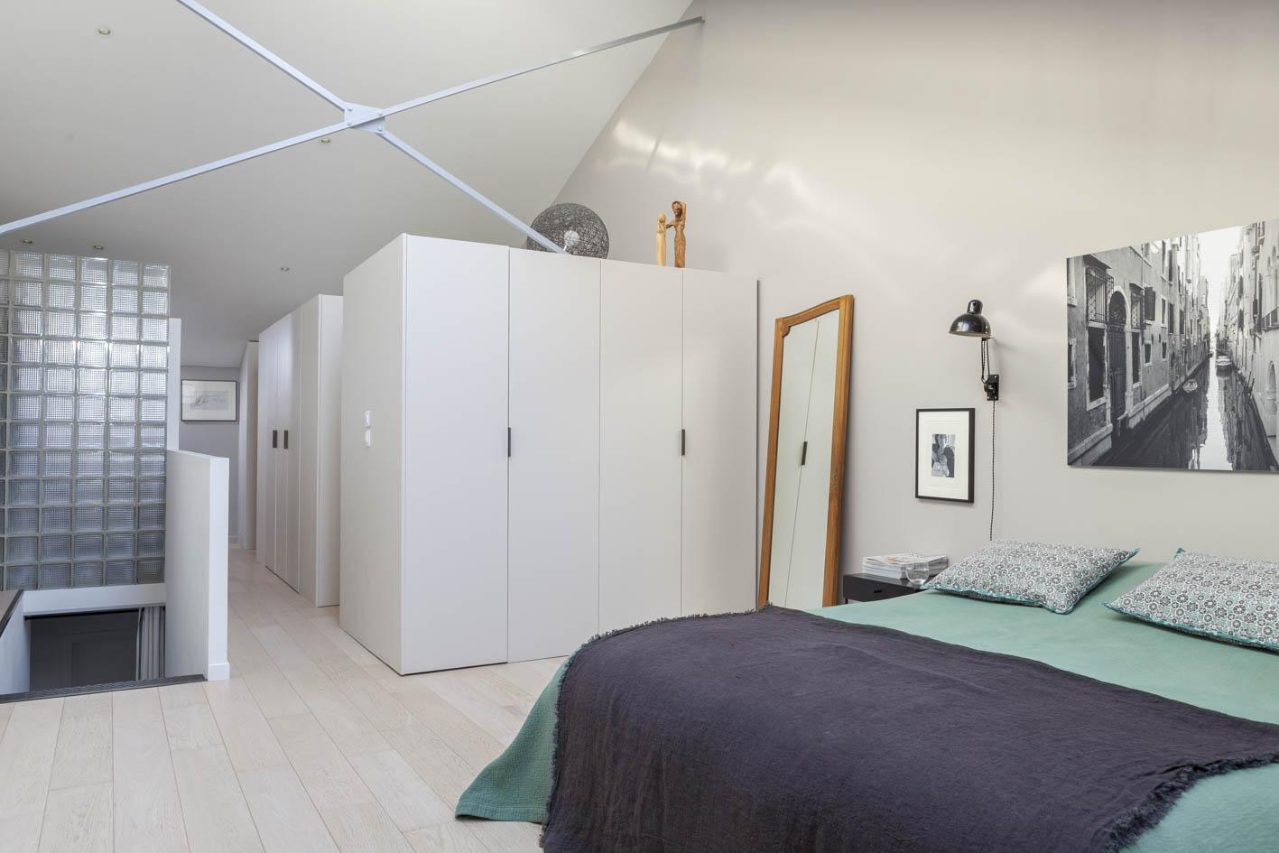 Un loft vicino a parigi for Case modulari con suite di legge