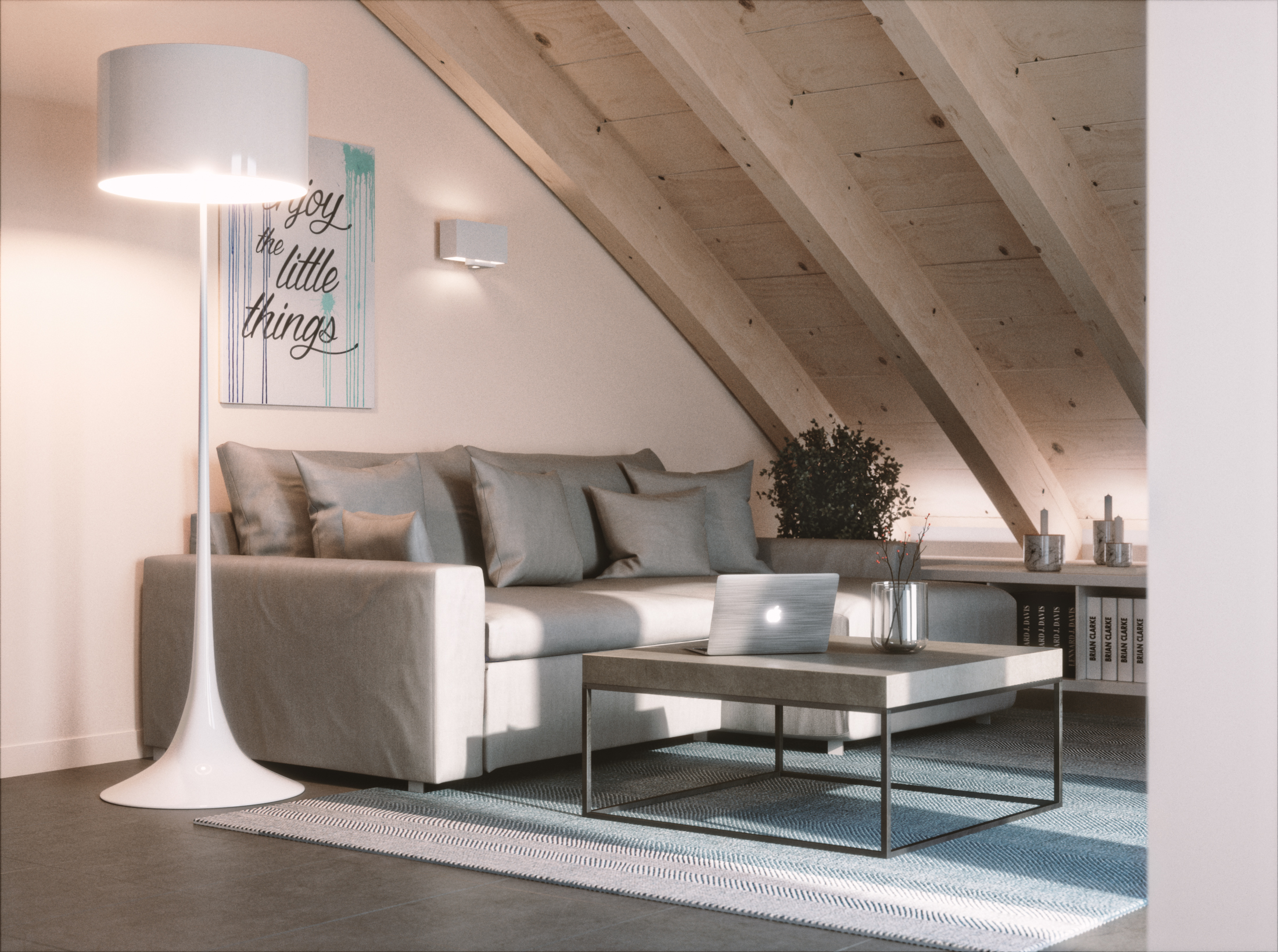 Salone Mansarda Con Rete E Camino : Utilizzi della mansarda che aggiungono valore alla casa