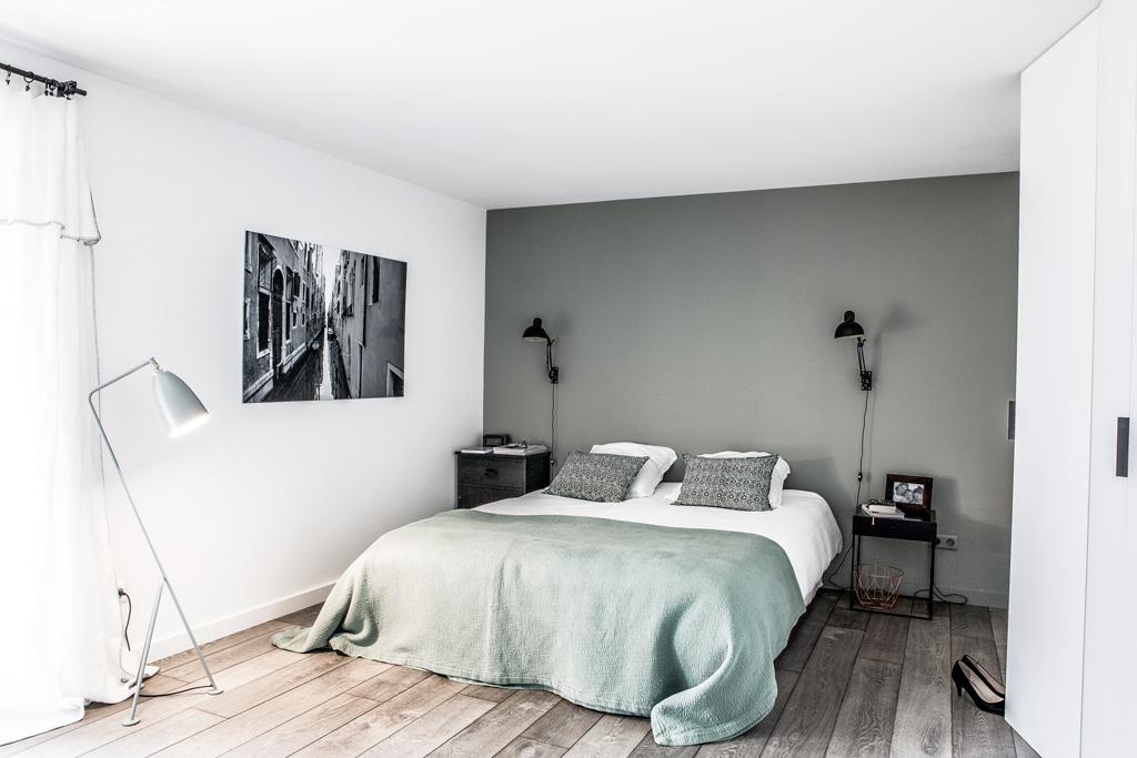 Camera Da Letto Verde E Rosa : La ristrutturazione di una casa di famiglia mansarda