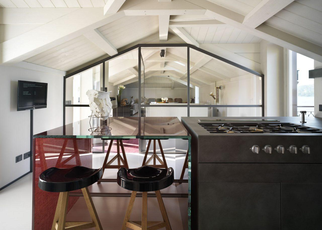 Una mansarda contemporanea - Altezza minima finestre ...