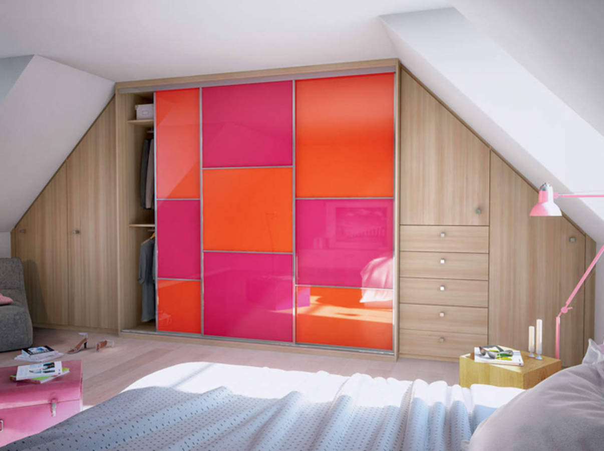 Come trovare l 39 armadio giusto per gli spazi della mansarda for Chambre sous pente fille