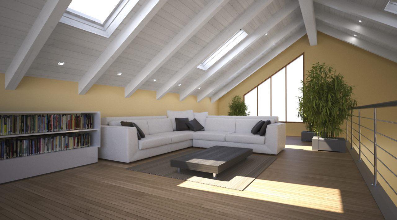 Come rinnovare un tetto in legno - Tetto in legno bianco ...