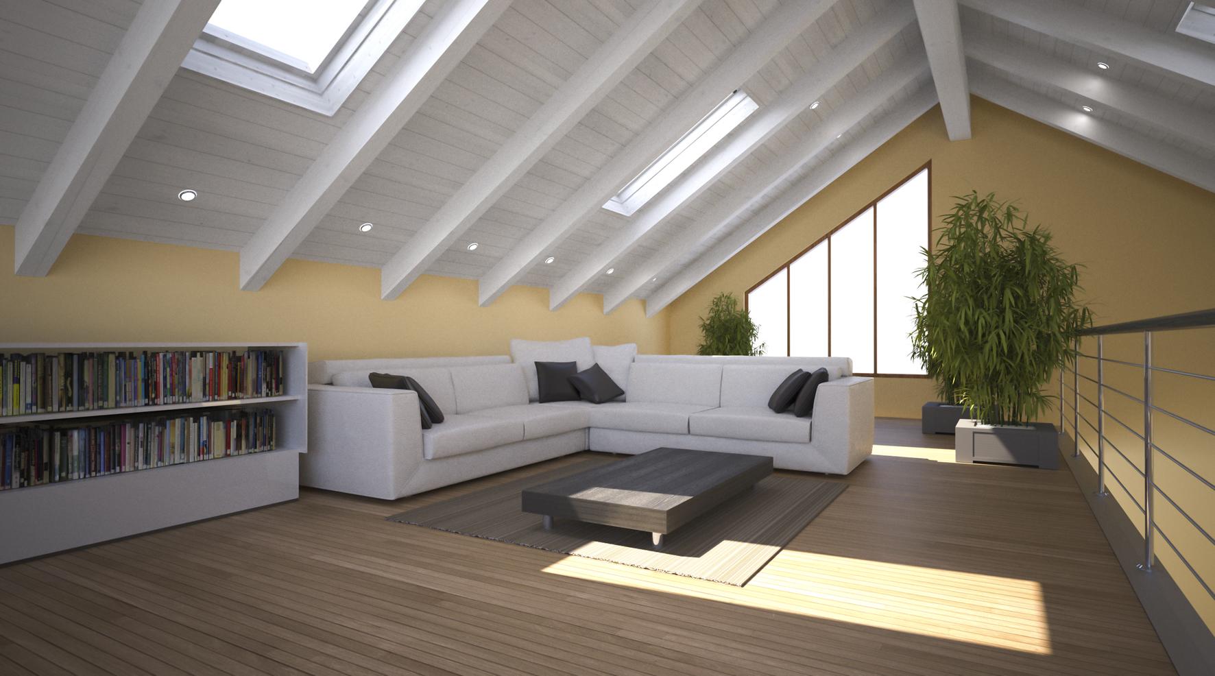Come rinnovare un tetto in legno for Case moderne interni legno