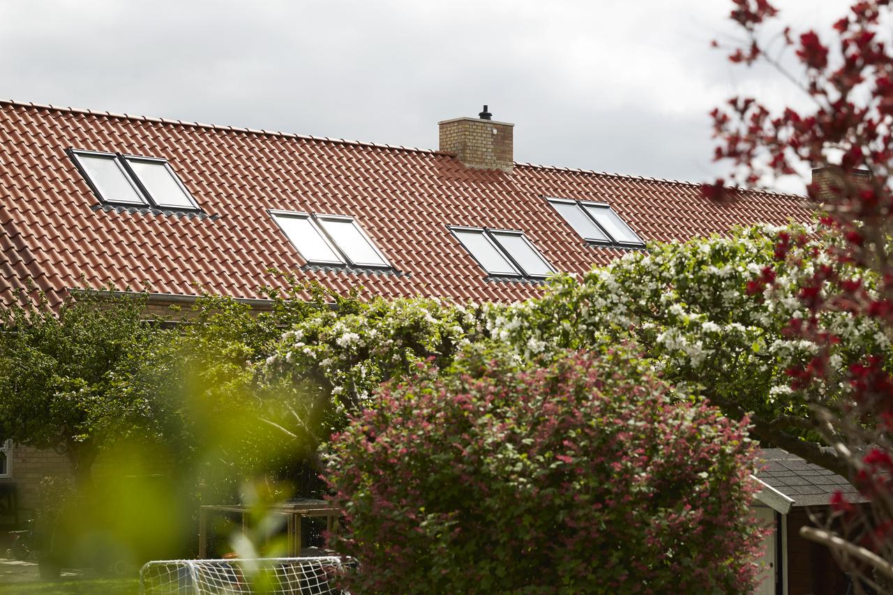Tetto con finestre for Finestra nel tetto