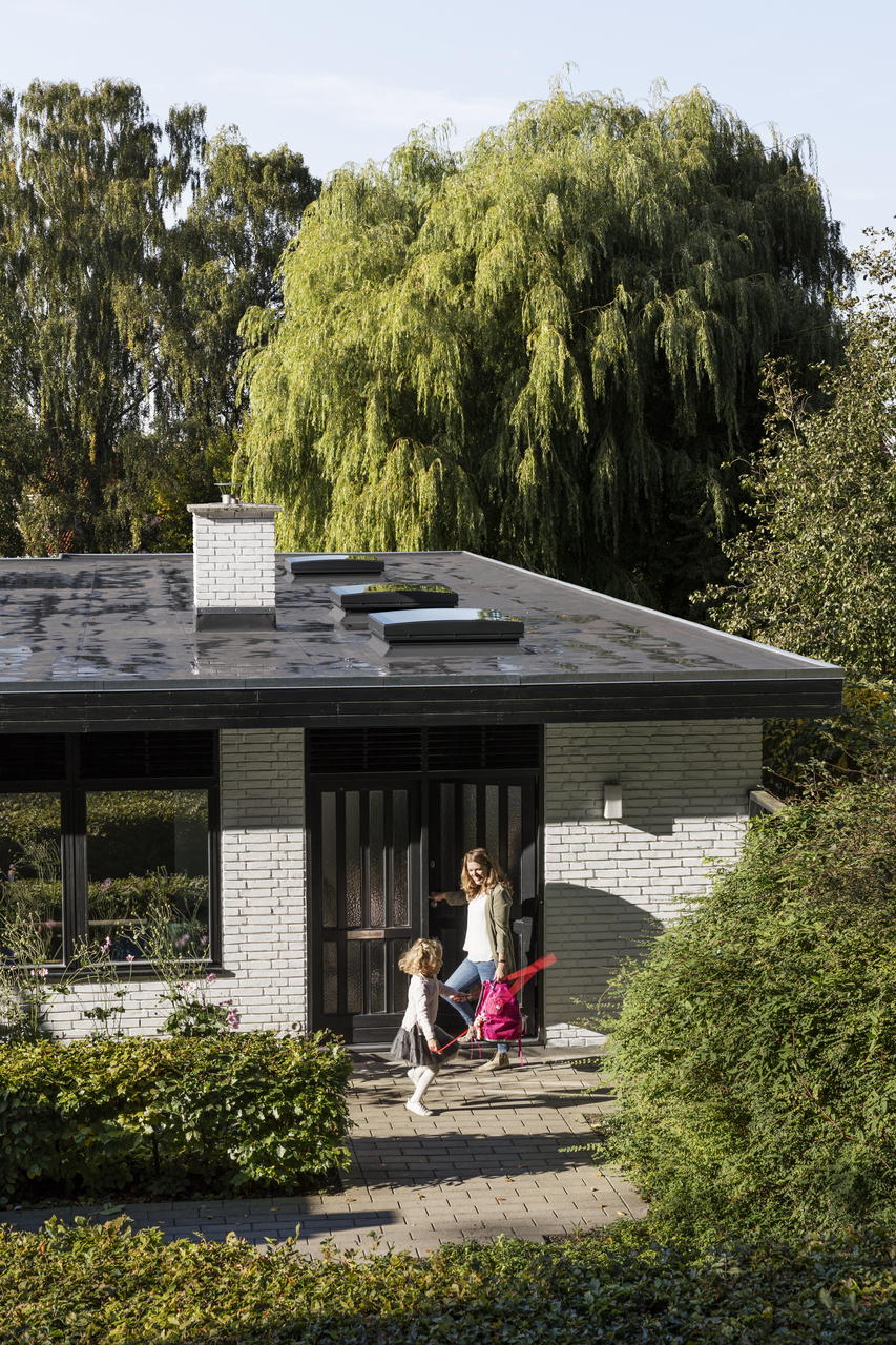 Finestre su tetto piano