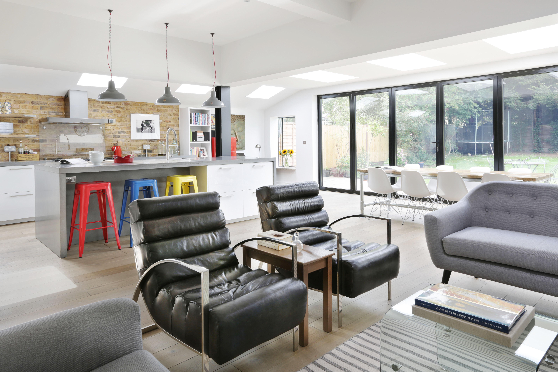 Un 39 estensione per un nuovo living - Living e cucina ...