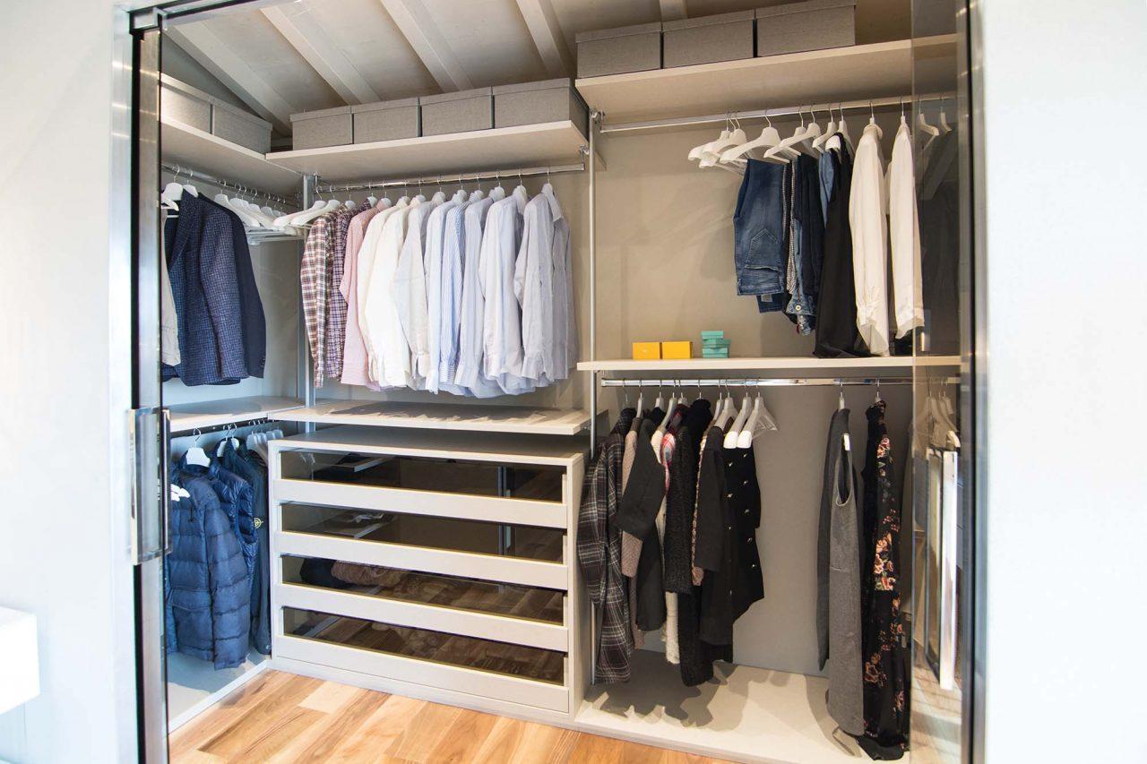 Cabina armadio in mansarda foto immagini e idee - Soluzioni per cabine armadio ...